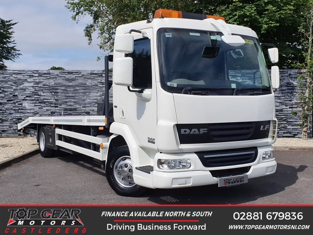 USED 2012 61 DAF TRUCKS LF LF45.160 4.5 160 BHP BEAVERTAIL ALLOY  BODY 3200KG PAYLOAD ** BEAVER TAIL BODY ** 160 BHP ** FINANCE AVAILABLE **