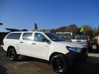 USED 2018 68 TOYOTA HI-LUX 2.4 ACTIVE 4WD D-4D Double Cab 150 BHP 2018 68 Hilux Active Double Cab 4x4 pick up Toyota Warranty until 2023