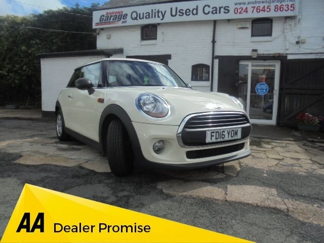 USED 2016 16 MINI HATCH ONE 1.5 ONE D 3d 94 BHP