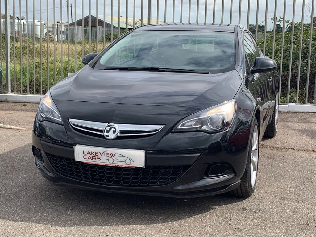 USED 2016 16 VAUXHALL ASTRA 1.4 GTC SPORT S/S 3d 118 BHP