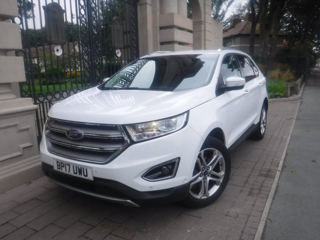 USED 2017 17 FORD EDGE 2.0 TITANIUM TDCI 5d 177 BHP FINANCE ARRANGED**PART EXCHANGE WELCOME**1 OWNER**INTELLIGENT AWD**NAV**CRUISE**REVERSING CAMERA**PARK ASSIST