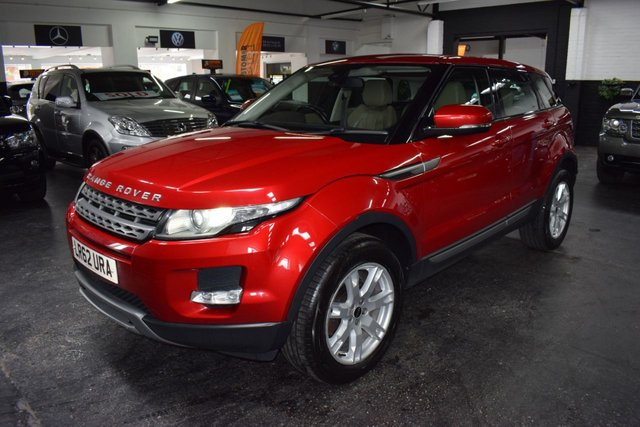 USED 2012 62 LAND ROVER RANGE ROVER EVOQUE 2.2 SD4 PURE 5d 190 BHP 4X4 190BHP STUNNING CONDITION - 4X4 - 190BHP - ONE OWNER FROM NEW - 7 STAMPS TO 80K MILES - LEATHER - HEATED SEATS - MERIDIEN SPEAKERS