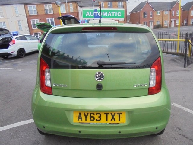 USED 2013 63 SKODA CITIGO 1.0 ELEGANCE 5d 74 BHP **CLICK AND COLLECT ON YOUR NEXT CAR**