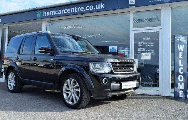 2016 16 LAND ROVER DISCOVERY 4 3.0 SDV6 LANDMARK 5d 255 BHP VAT QUALIFYING VEHICLE FACTORY DVDS