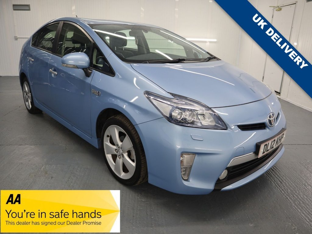 USED 2012 12 TOYOTA PRIUS 1.8 PLUG-IN HYBRID 5d 99 BHP GREAT LOW MILEAGE HYBRID WITH DEALERSHIP SERVICE HISTORY