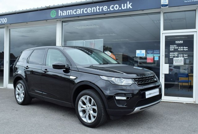 2016 16 LAND ROVER DISCOVERY SPORT 2.0 TD4 HSE 5d 180 BHP AUTO LOW-MILES
