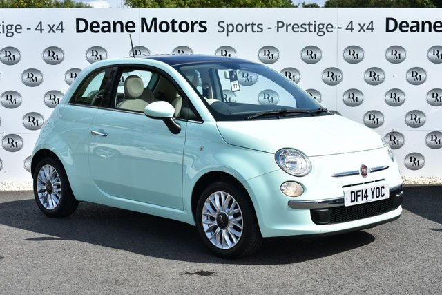 2014 14 FIAT 500 1.2 LOUNGE 3d 69 BHP GLASS ROOF