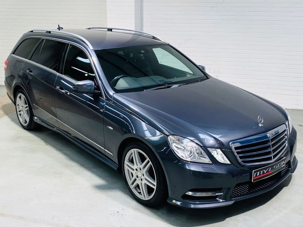 USED 2011 61 MERCEDES-BENZ E-CLASS 3.0 E350 CDI BLUEEFFICIENCY SPORT ED125 5d 265 BHP Stunning Low Mileage E350 Sport Estate, Edition 125 Spec with AMG Pack, Sat Nav, Heated Black Leather Interior