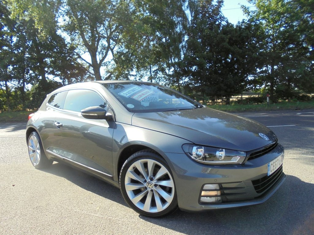 USED 2017 67 VOLKSWAGEN SCIROCCO 2.0 GT TSI BLUEMOTION TECHNOLOGY DSG 2d 178 BHP