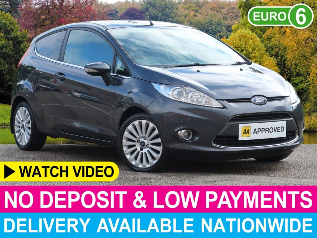 USED 2010 59 FORD FIESTA 1.4 Titanium 3dr Air Con Lady Owner  Lady Owner Air Con Alloys PDC