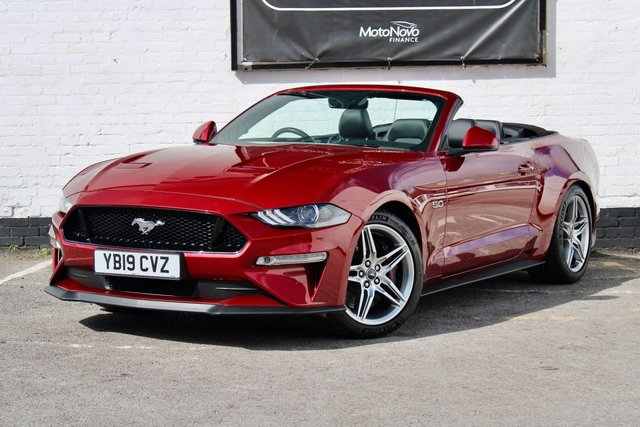2019 19 FORD MUSTANG 5.0 GT 2d 444 BHP