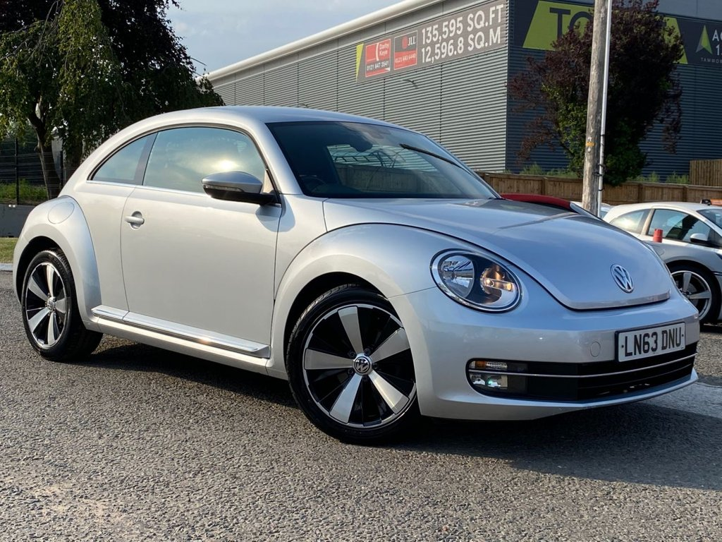 "USED 2013 63 VOLKSWAGEN BEETLE 1.2 DESIGN TSI 3d 103 BHP 18"" ALLOYS, AIR CON, DAB RADIO"