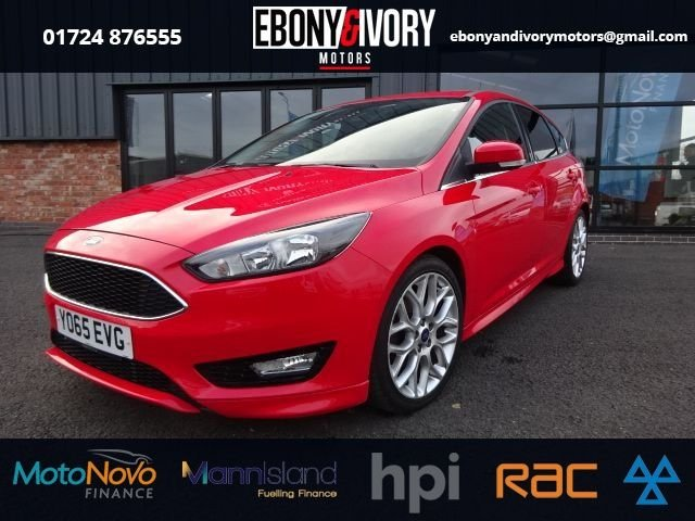 USED 2015 65 FORD FOCUS 1.5 ZETEC S TDCI 5d 118 BHP FANTASTIC EXAMPLE+FULLY SERVICED+1 YEAR MOT+BREAKDOWN COVER
