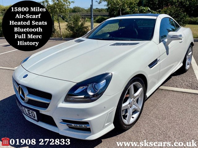 2013 13 MERCEDES-BENZ SLK 1.8 SLK200 BLUEEFFICIENCY AMG SPORT 2d 184 BHP