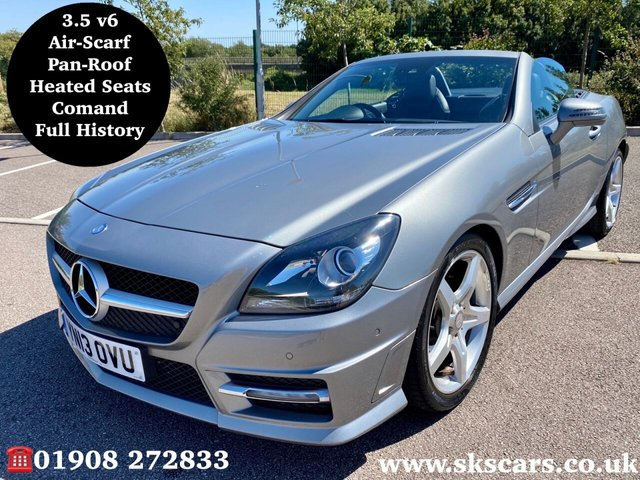2013 13 MERCEDES-BENZ SLK 3.5 SLK350 BLUEEFFICIENCY AMG SPORT 2d 306 BHP