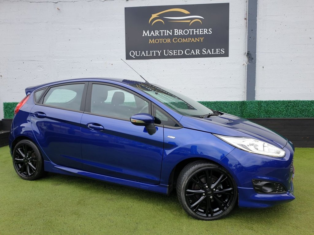 USED 2016 66 FORD FIESTA 1.0 ST-LINE 5d 124 BHP