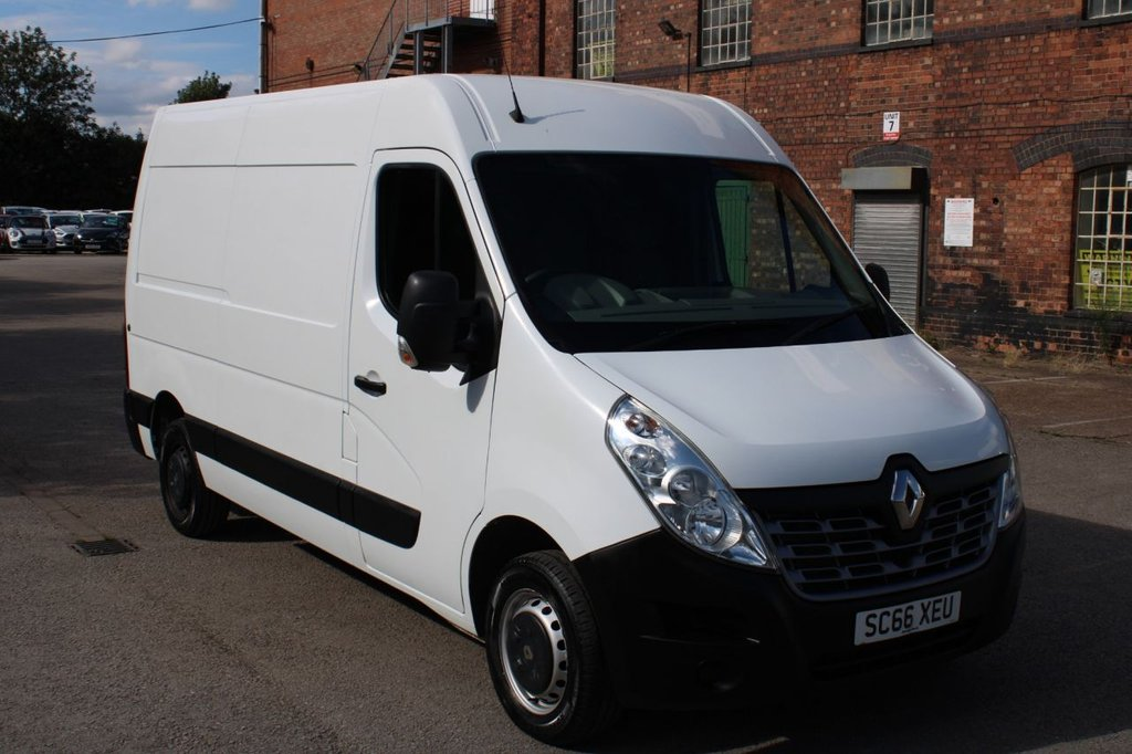 USED 2016 66 RENAULT MASTER 2.3 MM33 BUSINESS DCI S/R P/V 110 BHP