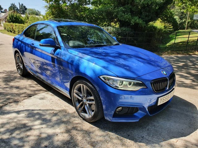 2015 Y BMW 2 SERIES 2.0 220D XDRIVE M SPORT 2d 188 BHP