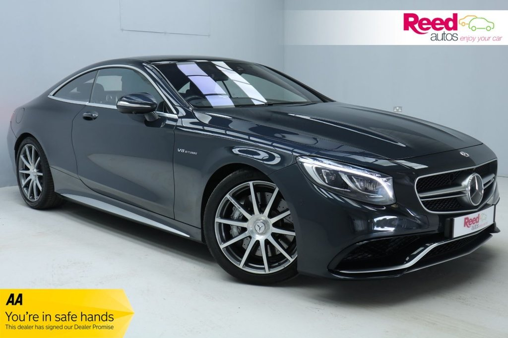 USED 2017 17 MERCEDES-BENZ S-CLASS 5.5 AMG S 63 2d 577 BHP