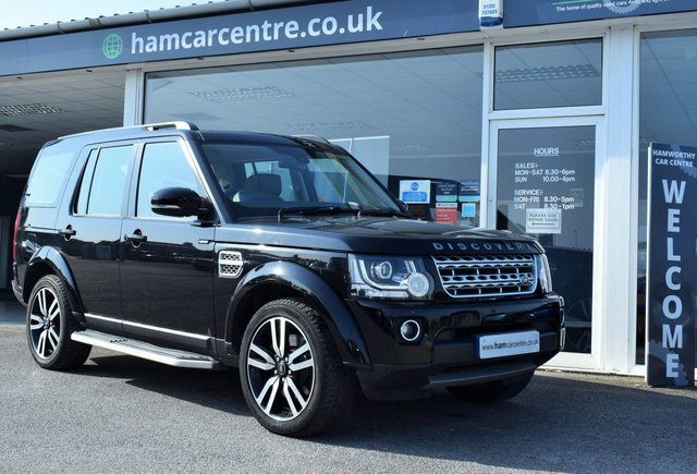 2014 14 LAND ROVER DISCOVERY 4 3.0 SDV6 HSE LUXURY 5d 255 BHP FACTORY DVDS