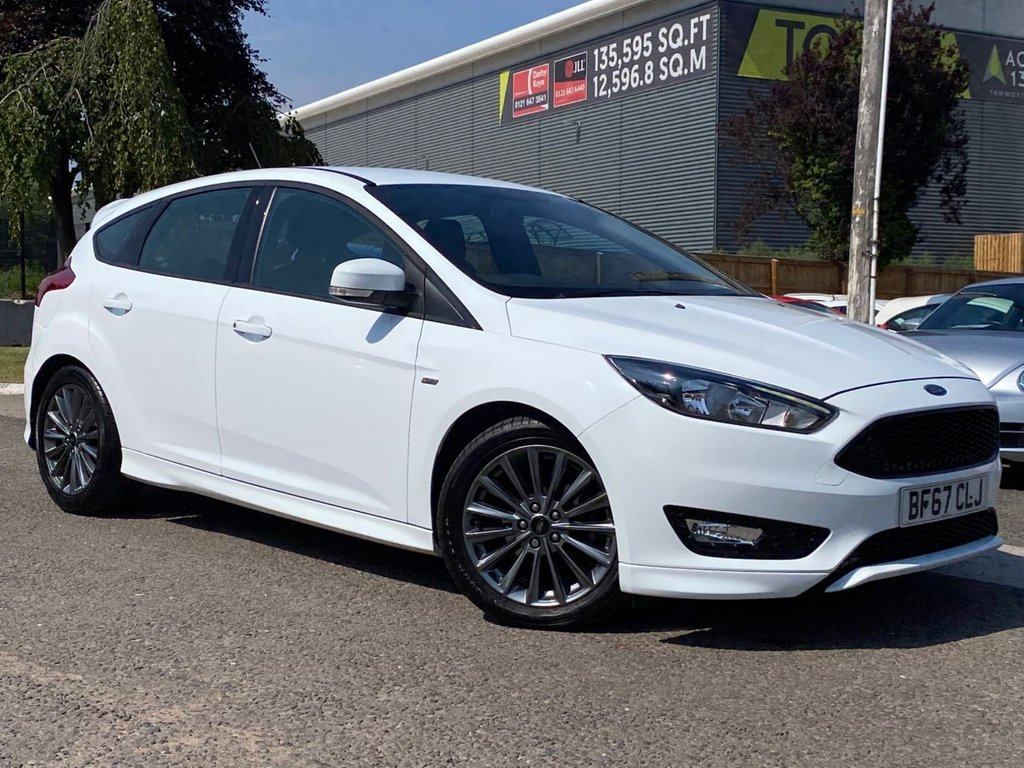 USED 2017 67 FORD FOCUS 1.5 ST-LINE TDCI 5d 118 BHP SYNC 3 SAT NAV, DAB, 1 OWNER