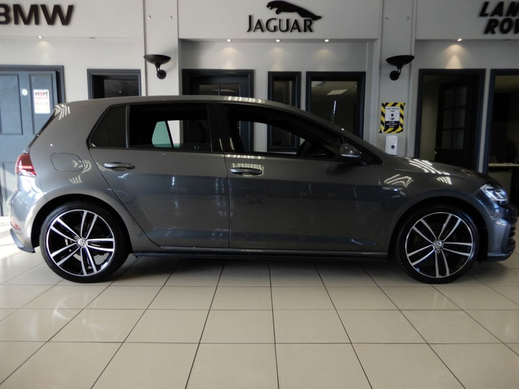 USED 2018 68 VOLKSWAGEN GOLF 2.0 GTD TDI 5d 182 BHP FINISHED IN STUNNING METALLIC GREY WITH GREY CHECKER CLOTH HEATED SEATS + 1 OWNER FROM NEW WITH A FULLY DOCUMENTED VW SERVICE HISTORY + SATELLITE NAVIGATION + VIRTUAL COCKPIT + DIGITAL DASH DISPLAY + BLUETOOTH MEDIA WITH APPLE CARPLAY/ANDRIOD AUTO/ MIRROR LINK + IN CAR ENTERTAINENT AUX/USB/SD + 18