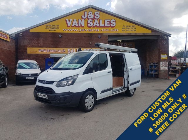 USED 2014 64 FORD TRANSIT CUSTOM T290 SWB LOW ROOF (( ONLY 37000 MLS 1 OWNER )) ### NICE LOW MLS CUSTOM DIRECT COUNCIL ###