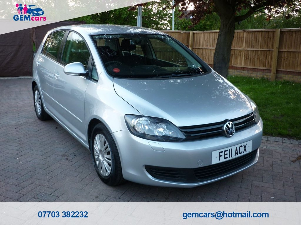 USED 2011 11 VOLKSWAGEN GOLF PLUS 1.6 S TDI 5d 103 BHP GO TO OUR WEBSITE TO WATCH A FULL WALKROUND VIDEO