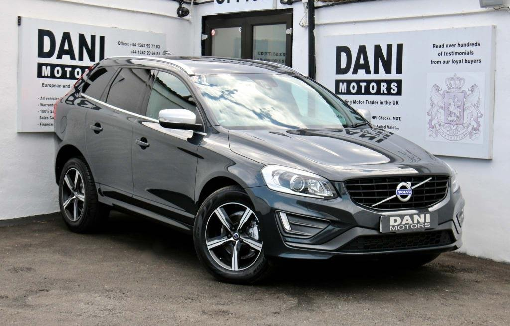 USED 2016 16 VOLVO XC60 2.4 D4 R-Design Lux Nav Geartronic AWD (s/s) 5dr 1 OWNER*SATNAV*PARKING AID