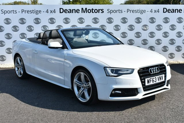 2013 63 AUDI A5 2.0 TDI S LINE SPECIAL EDITION 2d 175 BHP STUNNING CONDITION