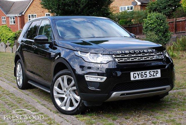 2015 65 LAND ROVER DISCOVERY SPORT 2.0 TD4 HSE LUXURY AUTO [7 SEAT] 4x4  [180 BHP] 5 DOOR HATCHBACK