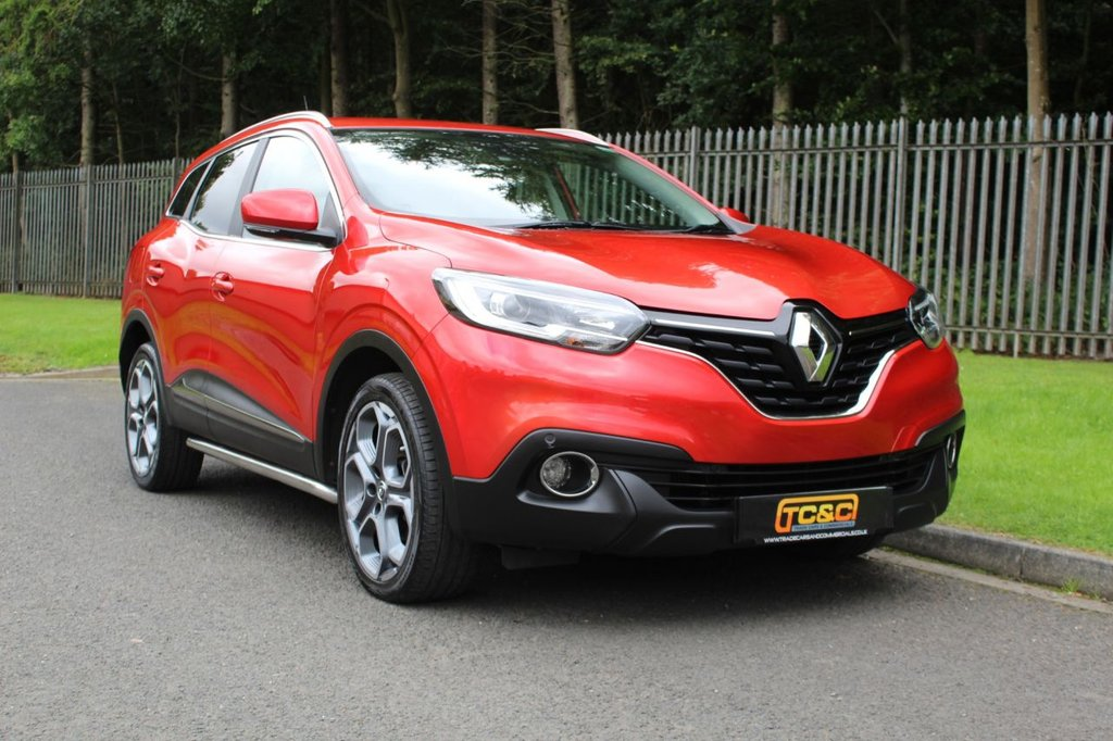 USED 2016 16 RENAULT KADJAR 1.5 DYNAMIQUE S NAV DCI 5d 110 BHP A STUNNING LOW OWNER KADJAR WITH HIGH SPECIFICATION AND FULL SERVICE HISTORY!!!