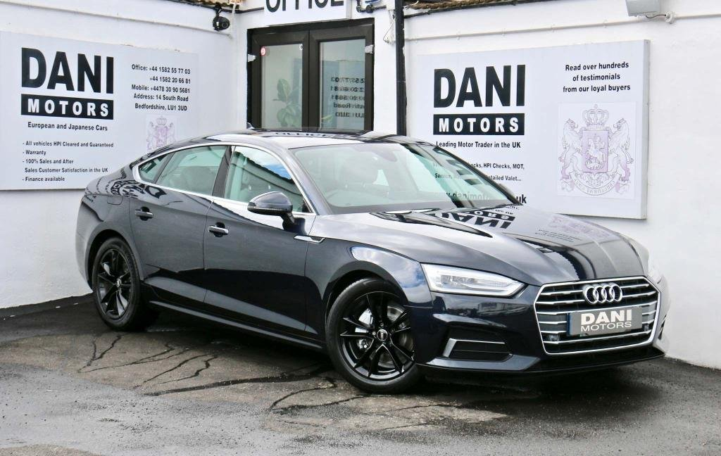 USED 2017 17 AUDI A5 2.0 TDI 40 Sport Sportback S Tronic (s/s) 5dr 1 OWNER*SATNAV*PARKING AID
