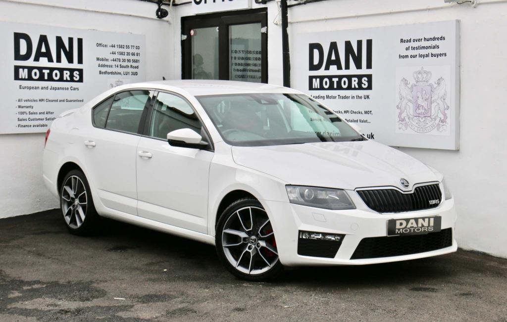 USED 2016 66 SKODA OCTAVIA 2.0 TDI vRS DSG 5dr 1 OWNER*SATNAV*PARKING AID*
