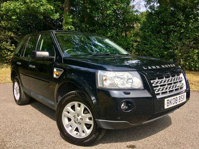 2008 08 LAND ROVER FREELANDER 2.2 TD4 XS 5d 159 BHP PART EXCHANGE TO CLEAR