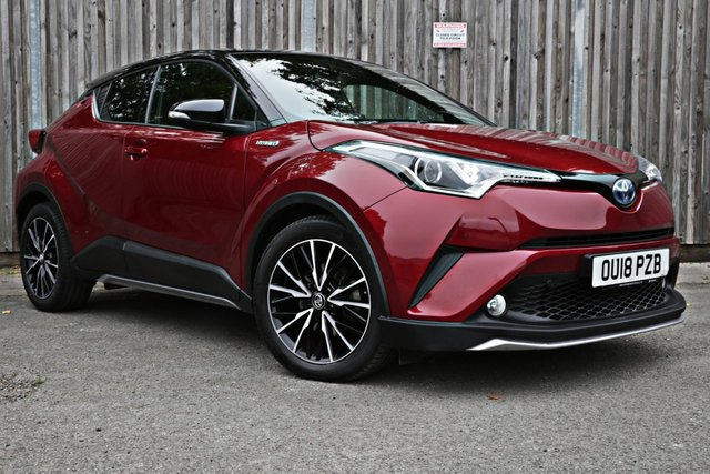 2018 18 TOYOTA CHR 1.8 RED EDITION 5d 122 BHP