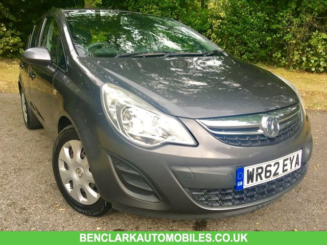 2012 62 VAUXHALL CORSA 1.2 EXCLUSIV AC 5d 83 BHP ONLY 37,500 MILES WITH 1 LADY OWNER SINCE AUGUST 2013