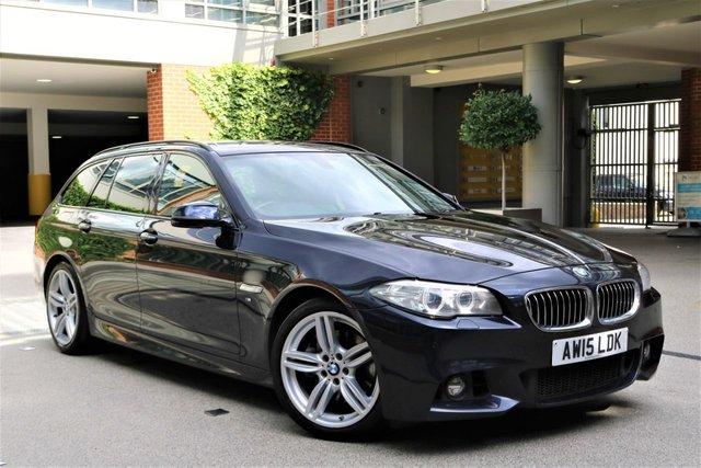 USED 2015 15 BMW 5 SERIES 3.0 535D M SPORT TOURING 5d 313 BHP