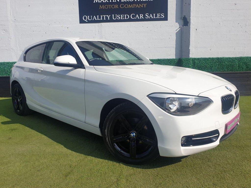 USED 2013 13 BMW 1 SERIES 1.6 114I SPORT 3d 101 BHP