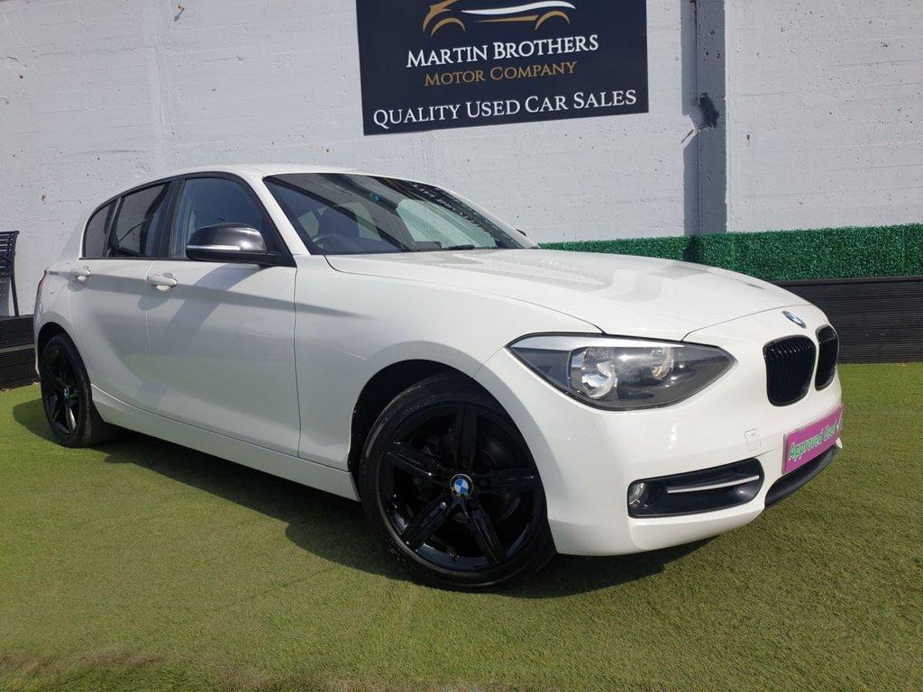 USED 2013 62 BMW 1 SERIES 1.6 116I SPORT 5d 135 BHP