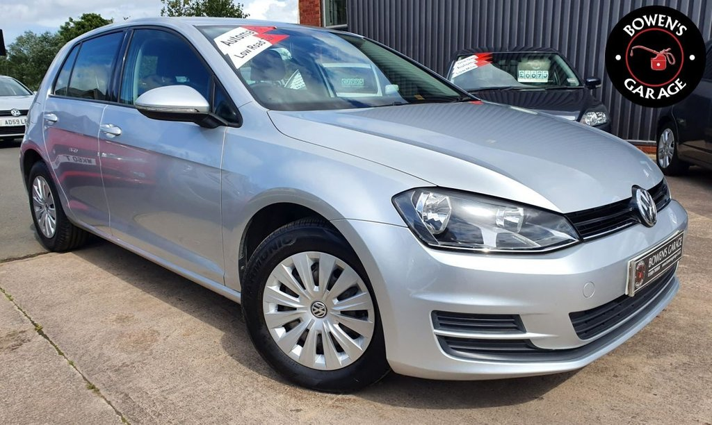 USED 2013 63 VOLKSWAGEN GOLF 1.2 S TSI BLUEMOTION TECHNOLOGY DSG 5D 103 BHP AUTO - Low Miles - 4 Services - £30 Tax