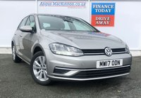 USED 2017 17 VOLKSWAGEN GOLF 1.6 SE NAVIGATION TDI BLUEMOTION TECHNOLOGY 5d Family Diesel Manual Hatchback with Sat Nav Recent Service plus MOT and New Clutch now Ready to Finance and Drive Away Today THE MOST TRUSTED FAMILY HATCHBACK! ONE FORMER OWNER FROM NEW + A GOOD SERVICE HISTORY