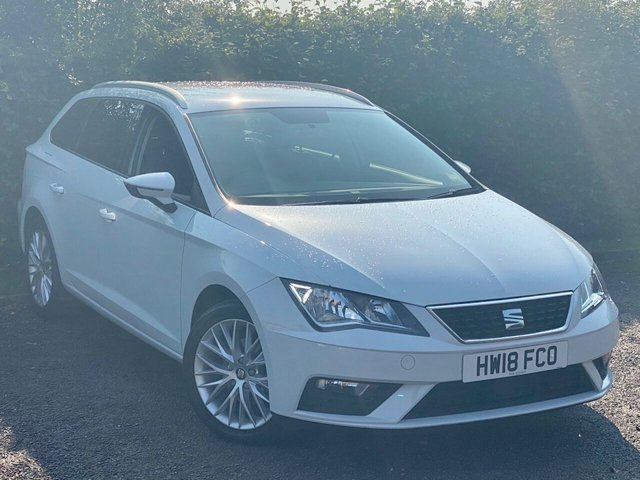 USED 2018 18 SEAT LEON 1.6 TDI SE DYNAMIC TECHNOLOGY 5d 114 BHP SATELLITE NAVIGATION, BLUETOOTH CONNECTION