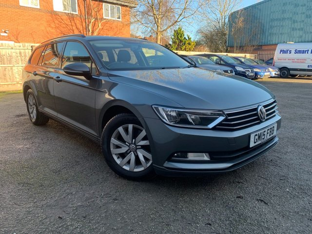 USED 2015 15 VOLKSWAGEN PASSAT 1.6 S TDI BLUEMOTION TECHNOLOGY 5d 119 BHP BLUETOOTH, USB, AUX, FULL SERVICE HISTORY, PRIVACY GLASS