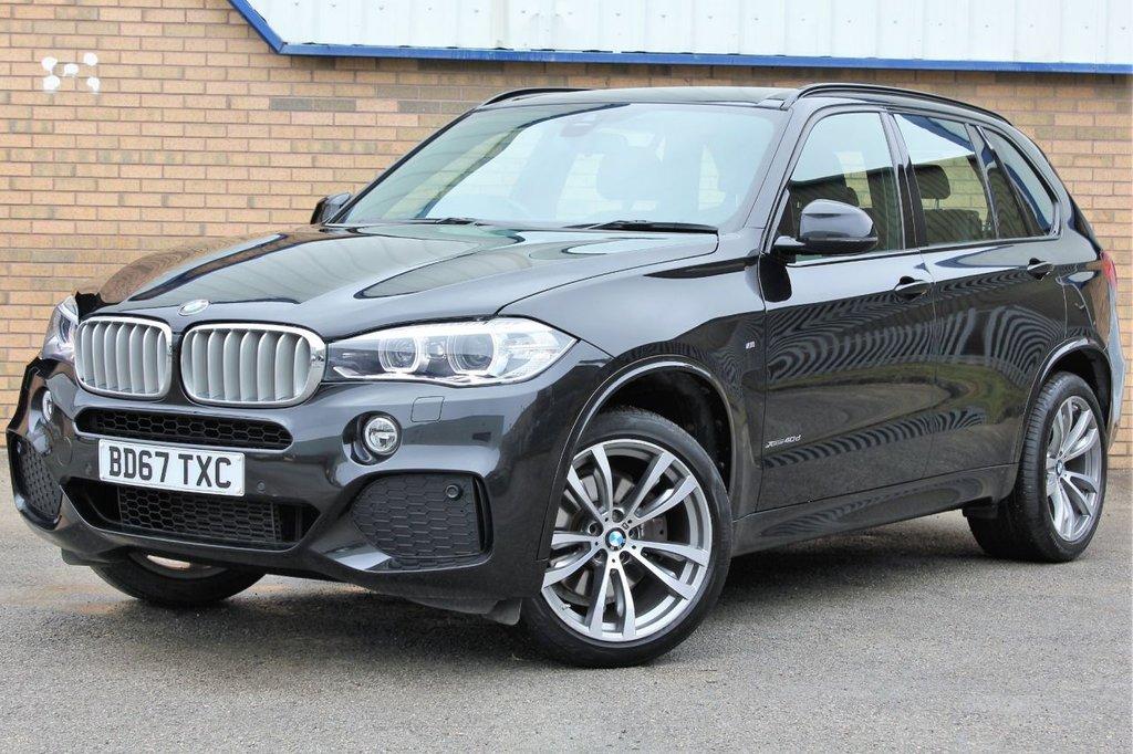 USED 2017 67 BMW X5 3.0 XDRIVE40D M SPORT 5d 309 BHP Prestigious 7 Seater BMW 4X4 - www.rx-motors.com