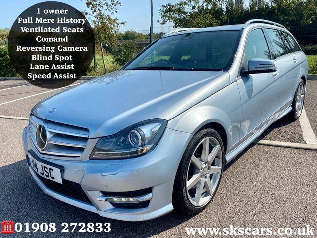 2012 62 MERCEDES-BENZ C-CLASS 3.0 C350 CDI BLUEEFFICIENCY AMG SPORT 5d 262 BHP