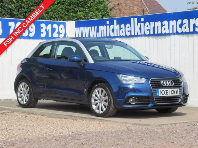 USED 2011 61 AUDI A1 1.6 TDI SPORT 3d 103 BHP VERY CLEAN CAR THROUGHOUT