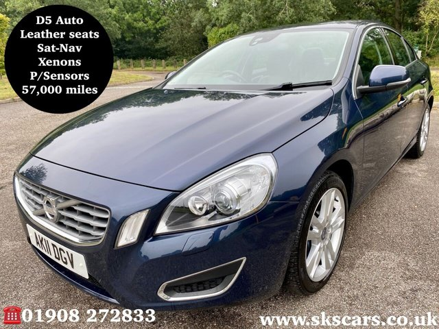 2011 11 VOLVO S60 2.4 D5 SE LUX 4d 202 BHP