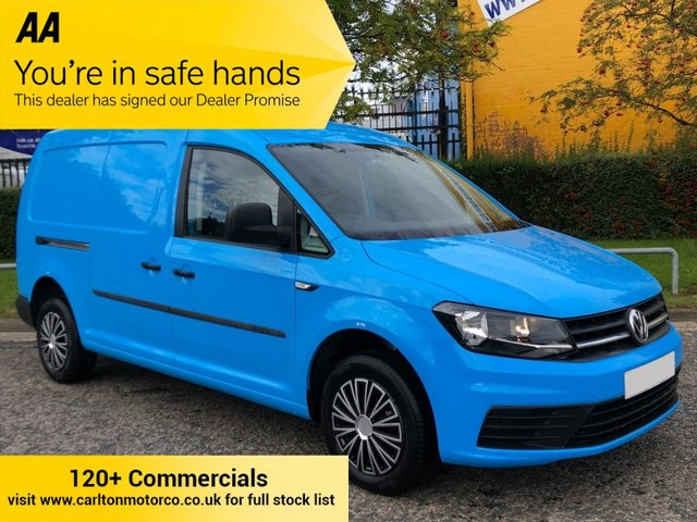 2015 65 VOLKSWAGEN CADDY MAXI 1.6 C20 TDI STARTLINE 101 BHP TWIN SIDE DOORS AIR CON