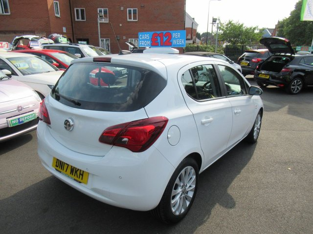 USED 2017 17 VAUXHALL CORSA 1.4 SE ECOFLEX 5d 89 BHP ** 1 OWNER FROM BRAND NEW **